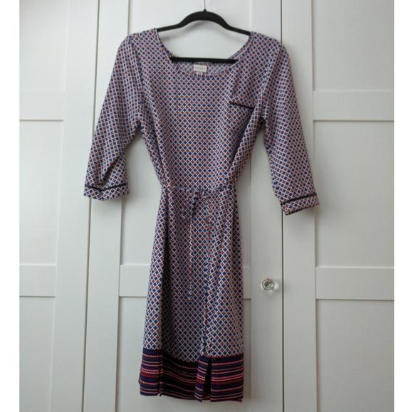 ❄️ 3/$25 Geometric Pattern Tunic Dress with Pocket